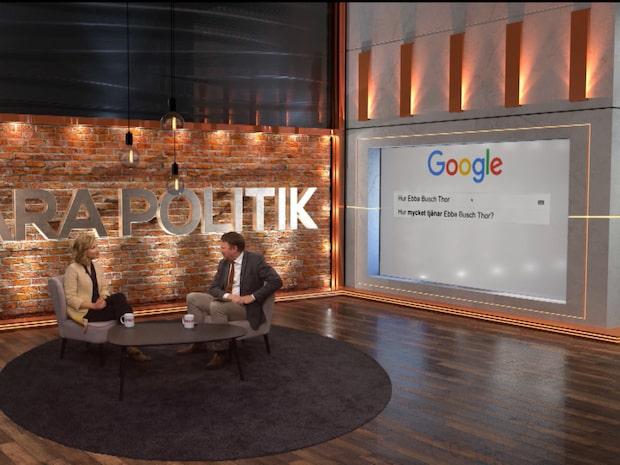 Bara politik: Ebba Busch Thor svarar på Google-frågor