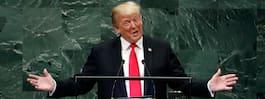 Donald Trump hyllar sig själv själv i FN – blir utskrattad