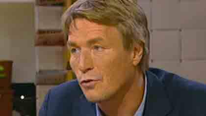Thomas Bodström i TV4:s morgonsoffa. Foto: TV4