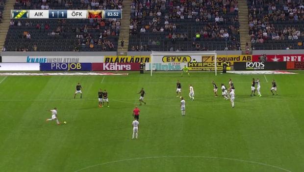 Höjdpunkter: AIK-Östersund