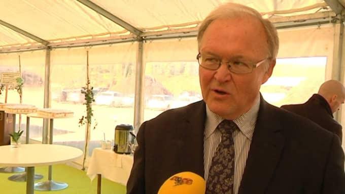 Göran Persson håller inte med utrikesminister Margot Wallström, utan menar att Rysslands inblandning i Syrien är bra.