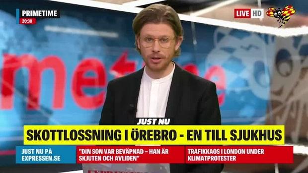 En skjuten i Örebro