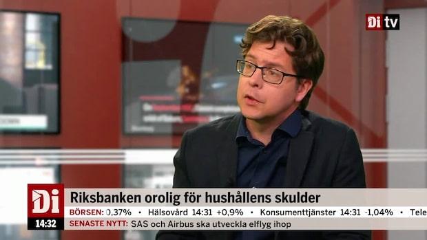 Riksbanken orolig för hushållens skulder
