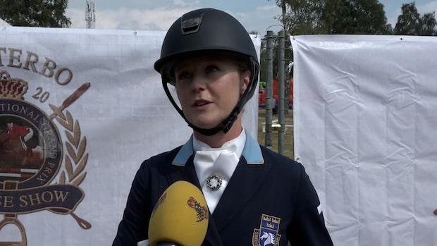 """Juliette Ramel: """"Väldigt nöjd med min häst"""""""
