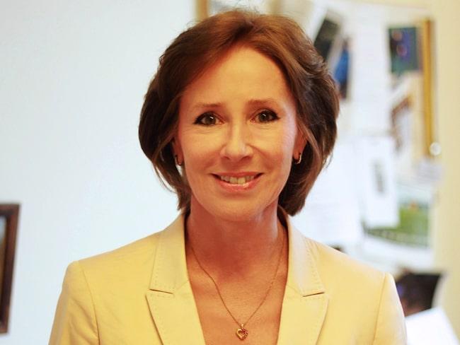 Angelica Lindén Hirschberg, överläkare och professor i gynekologi.