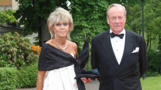 """Prinsessan Birgitta med sin make Johann Georg prins av Hohenzollern, """"Hansi"""", som på lördagen fördes till sin sista vila i Sigmaringen. Foto: Marius Gulliksrud"""