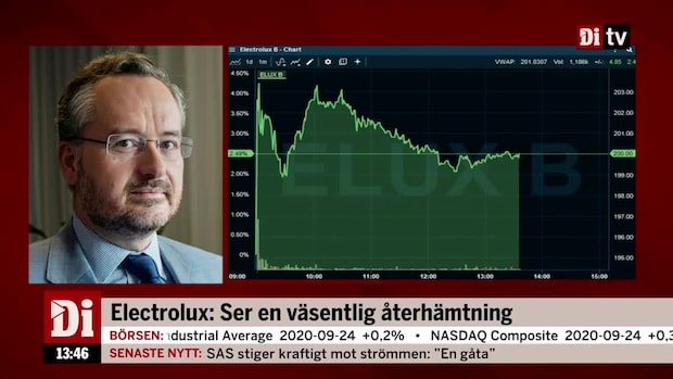 "SEB:s aktiestrateg: ""Där borde Electrolux lyfta mer"""