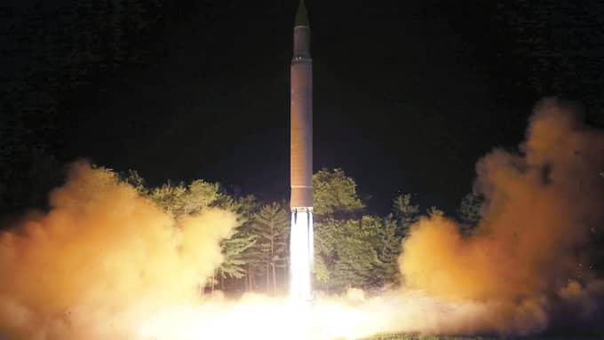 Nordkorea har avfyrat åtskilliga missiler på senare tid. Foto: AP / AP TT NYHETSBYRÅN