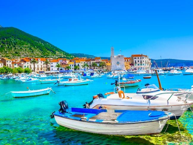 """Mamma Mia! Here we go agian"" spelades in på ön Vis i Kroatien."