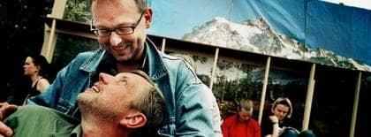 Börje Blomster och hans partner Jan-Fredrik Schöldström ingick partnerskap 1995, kort efter att det blev tillåtet. Foto: Magnus Jönsson