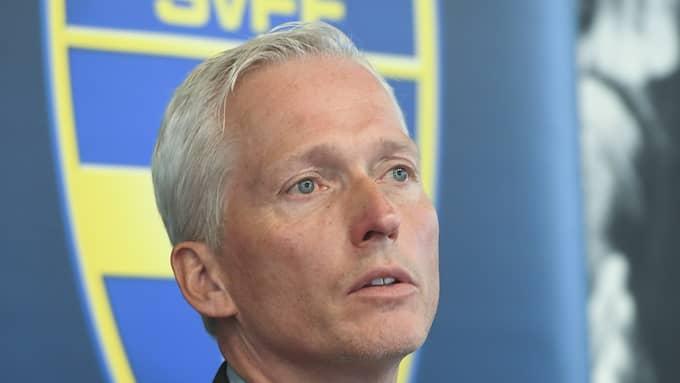 Håkan Sjöstrand, generalsekreterare SvFF. Foto: FREDRIK SANDBERG/TT