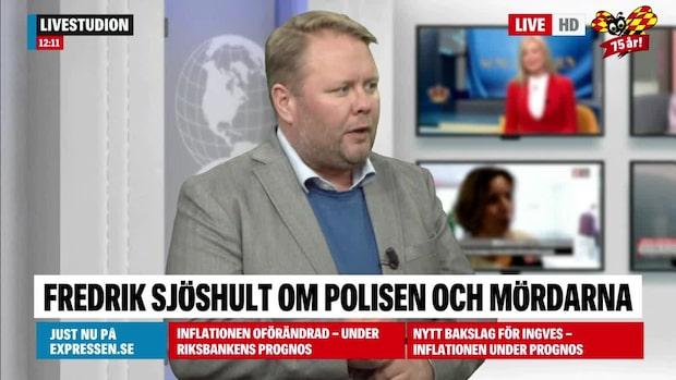 """Fredrik Sjöshult: """"Väldigt märkligt av polisen"""""""