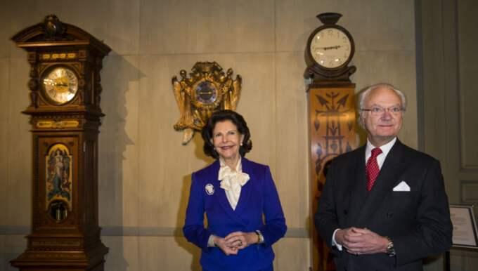 Även kungen och drottningen var på plats Foto: David Sica