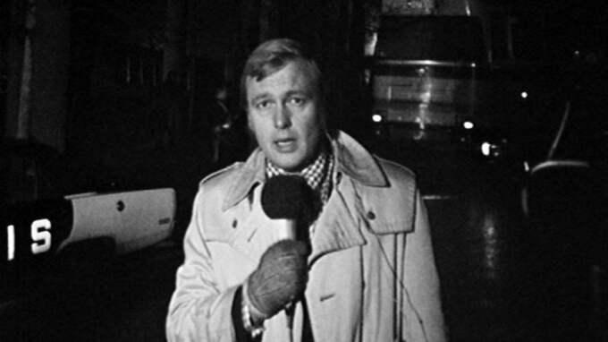 """Bosse Holmströms """"lägg ut, lägg ut!"""" blev en klassiker. Foto: SVT"""