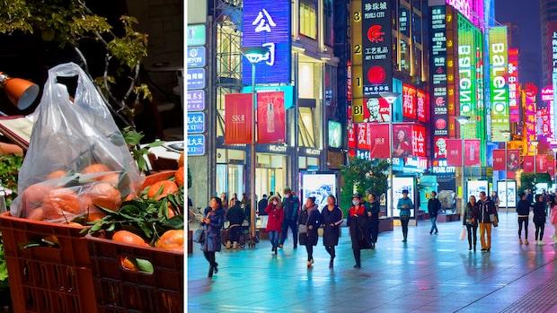 Kina förbjuder plastpåsar – sätter stopp för engångsplast
