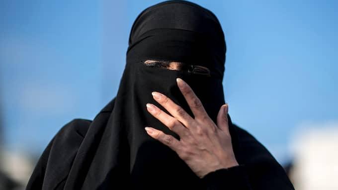 """Det planerade arrangemanget """"Burka Songs 2.0"""", filmvisning och samtal, fick skarp kritik och ställdes in. Foto: CHRISTIAN BRUNA / EPA / TT / EPA TT NYHETSBYRÅN"""