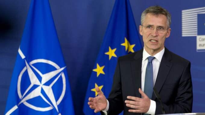 Natos generalsekreterare Jens Stoltenberg. Foto: Virginia Mayo / AP TT / NTB SCANPIX