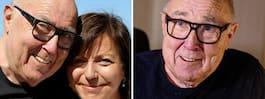 Ingvar Oldsberg får syrgas  – insjuknade på kärleksresan