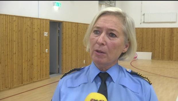 """Polischefen om sprängningen: """"Ett hot mot rättsväsendet"""""""