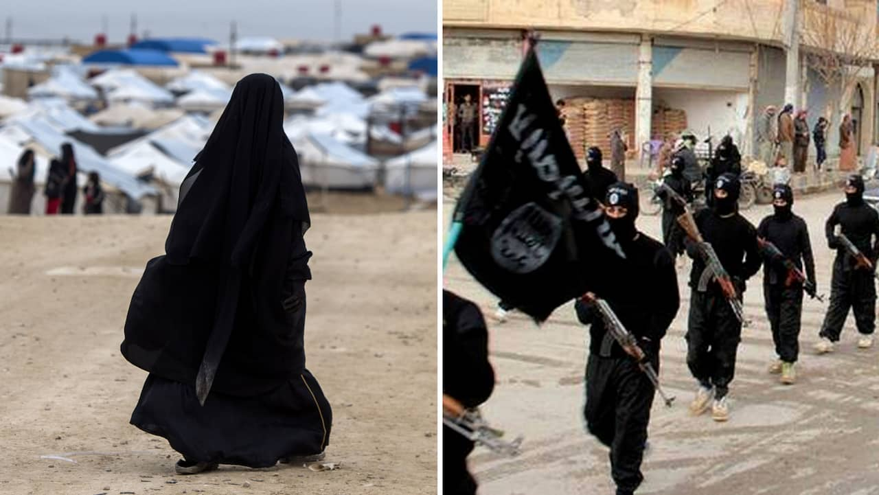 Svenska IS-kvinnan Lisa Andersson, 29, fånge i Syrien