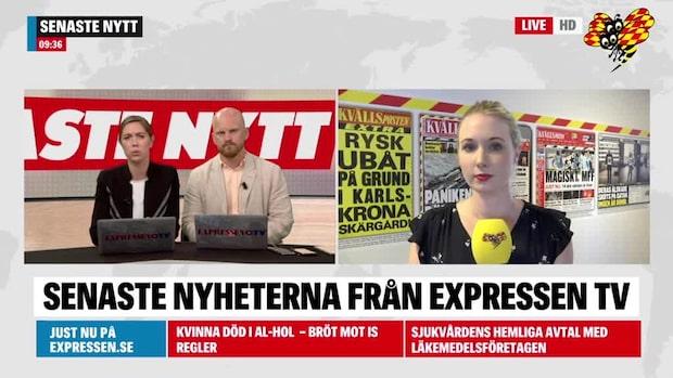 Här är morgonens nyheter från Sydsverige 28 juni