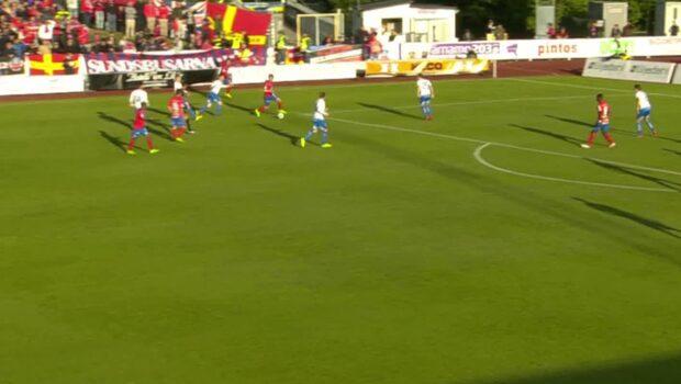 Highlights: IFK Värnamo-Helsingborgs IF 1-1