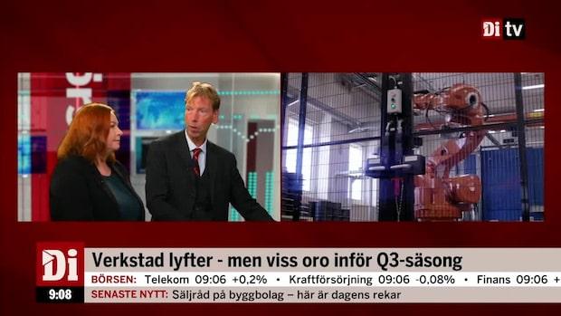 """Niklas Wellfelt om oron inför Q3-säsong: """"Osäkerhet kring handel"""""""