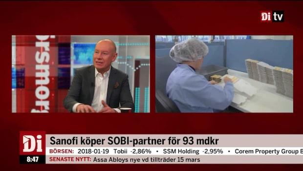 Sanofi köper SOBI-partner för 93 mdkr