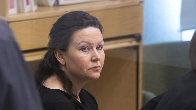 Johanna Möller under rättegången i Västerås tingsrätt. Foto: SVEN LINDWALL