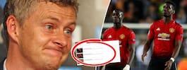 Missen (?) på hemsidan  kan ha avslöjat United