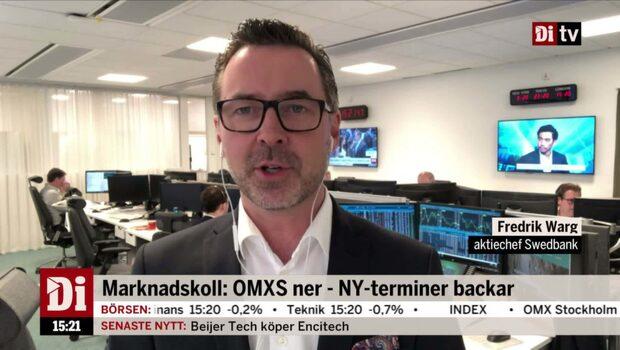 """Fredrik Warg: """"Handelsavtalen är det enda som det fokuseras på just nu"""""""