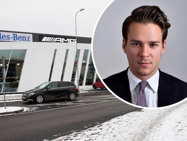 Riksdagsmannens tweet om att han önskar konkurs för en svensk bilåterförsäljare har väckt rejäl debatt.