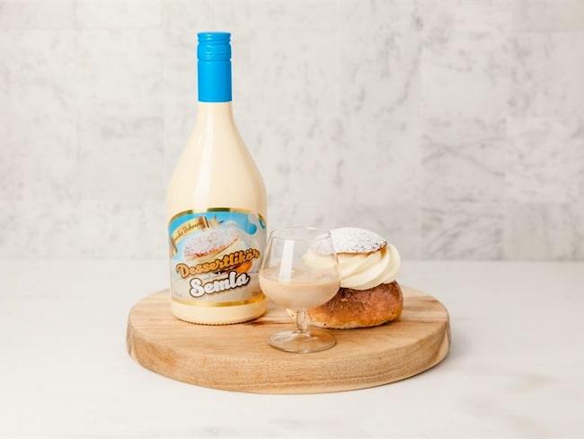 Får det lov att vara ett glas semla till semlan? Det återstår att se om den udda varianten av svenskarnas favoritbakverk faller folket i smaken.