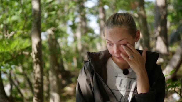 Carina Bergs tårar – efter dödsbeslutet med maken