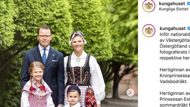 Nya bilderna på kungafamiljen – delar med sig av nationaldagsfirandet