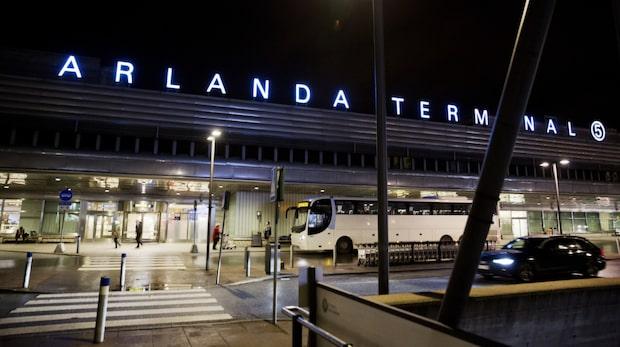 Haverilarm på Arlanda - flygplan utrymt