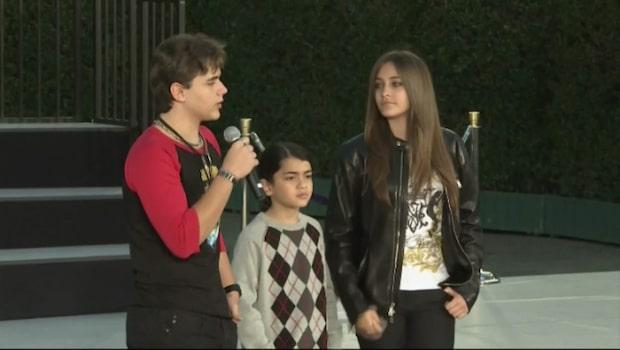 Bilden på Michael Jacksons son chockar fansen