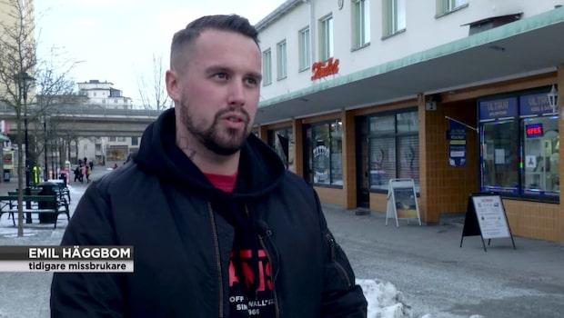 """Emil tog sig ur drogberoendet: """"Jag höll på att förlora allt"""""""