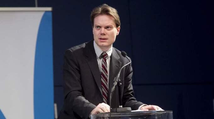 """SD:s pressansvarige Martin Kinnunen: """"Det är extremt olämpligt"""". Foto: Sven Lindwall"""