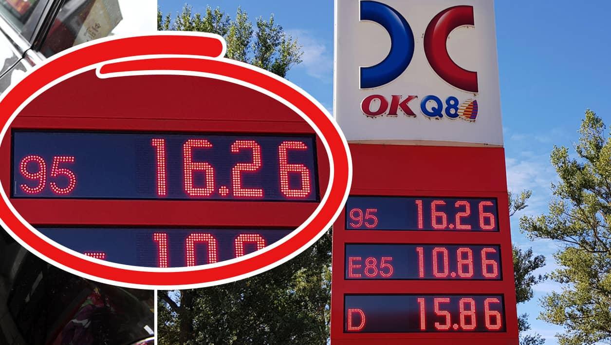 Grat ej over dyr olja