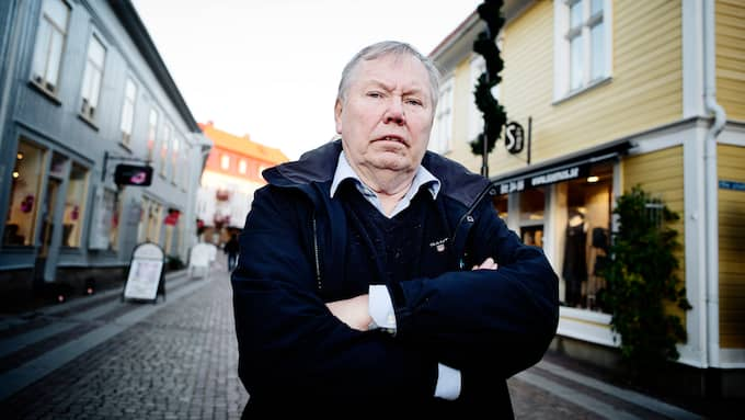Bert Karlsson. Foto: ANNA SVANBERG / ANNA SVANBERG GT/EXPRESSEN