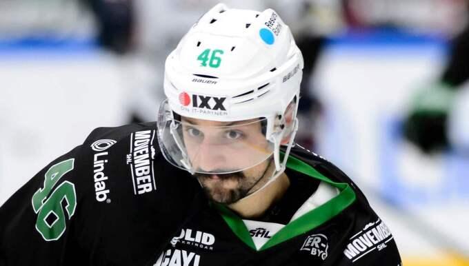Kevin Marshall stängs av tre matcher varav en omvandlas till böter. Foto: Anders Bjurö