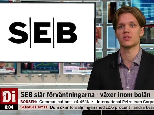 Di Morgonkoll – Rapporterande SEB först ut av storbankerna