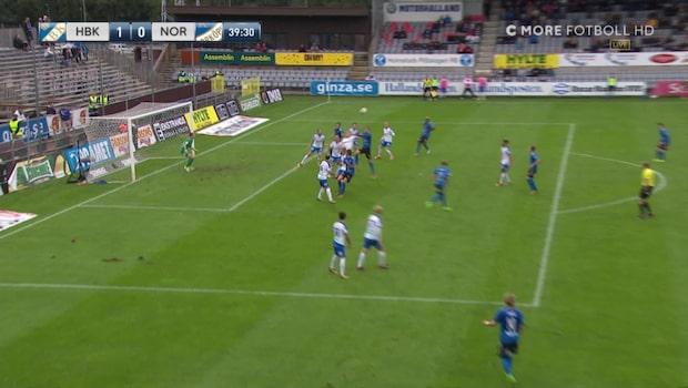 Halmstad tar ledningen mot IFK Norrköping