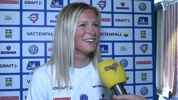 """Frida om sprickan med Skistad: """"Får bjuda hem henne"""""""