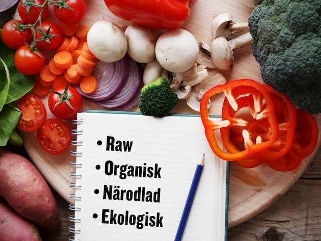 vad är organisk mat