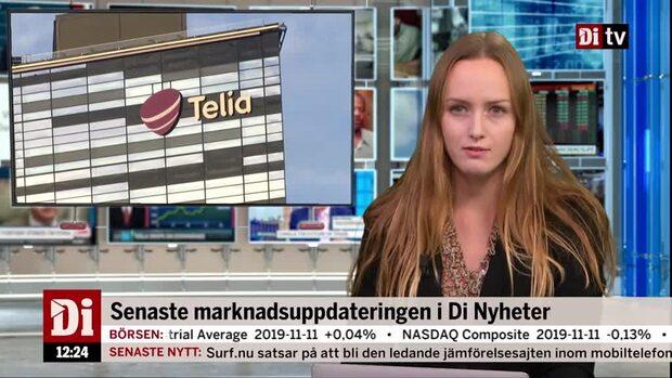 Di Nyheter: Telia får grönt ljus till TV4-köpet - aktien lyfter