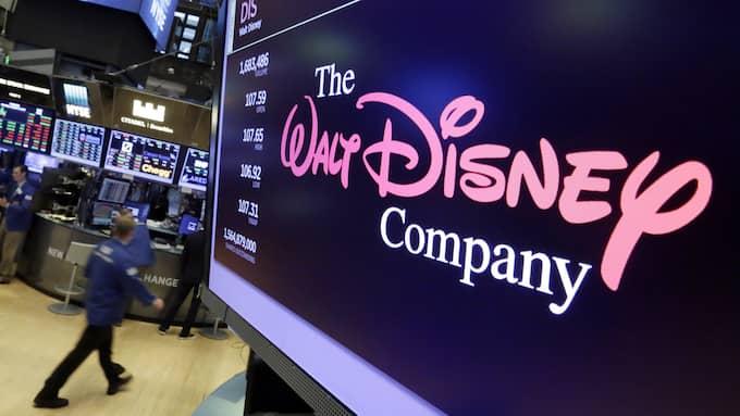 Disney föll i efterhandeln efter kvartalsrapporten på tisdagen – där man bland annat meddelade att man bryter med Netflix. Foto: AP / TT / NTB Scanpix