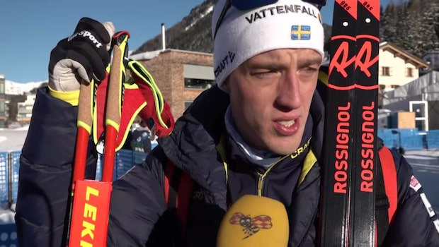 """Halfvarsson osäker på framtiden: """"Måste lugna mig med tävlingar"""""""