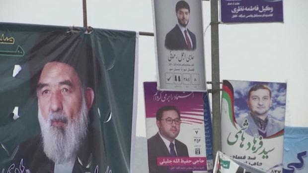 Afghanistan går till val